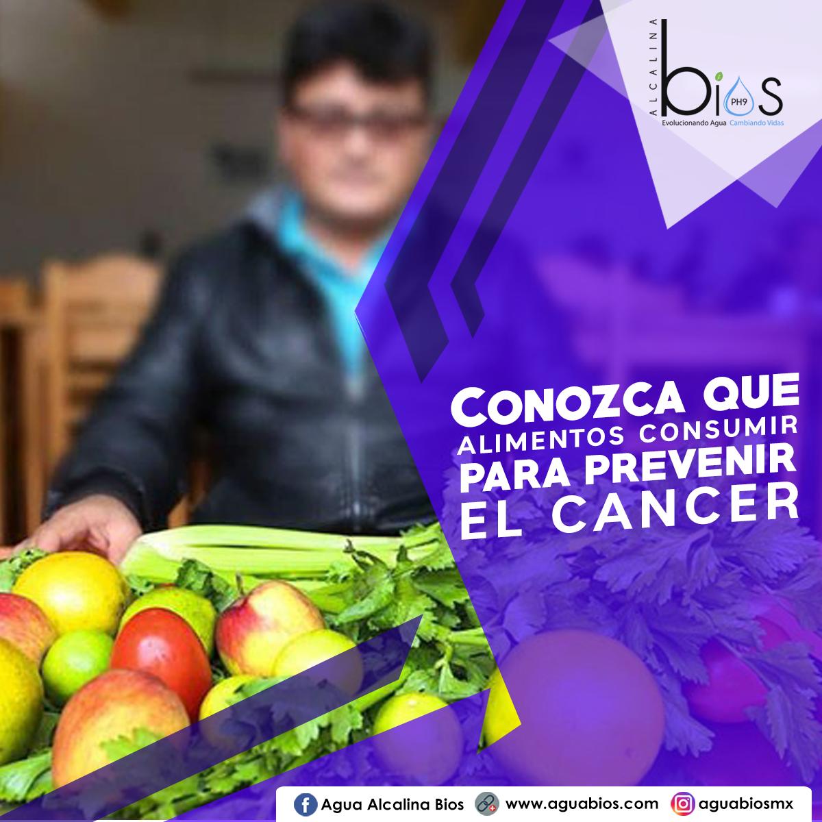 Conozca qué alimentos consumir para prevenir el cáncer